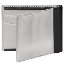 <strong>Stewart/Stand</strong> Leather Accent Bill Fold Wallet