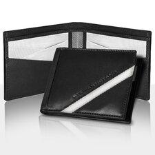 RFID Blocking Leather Tech Bill Fold Wallet