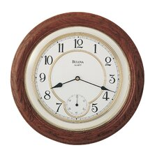 "<strong>Bulova</strong> 14"" William Wall Clock"