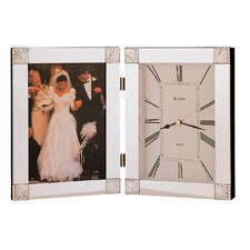 Ceremonial Picture Frame with Clock