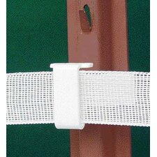 U Post Tape Insulator in White