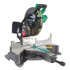 "<strong>Hitachi</strong> 12"" Blade Diameter Compound Miter Saw with Digital Display and Laser Marker C"