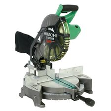"<strong>Hitachi</strong> C10FCH2 Compound 10"" Blade Diameter 15 Amp Miter Saw With Laser Marker"