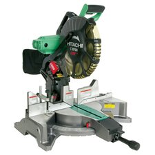 15 Amp Dual Bevel Miter Saw with Laser Marker