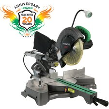 "<strong>Hitachi</strong> 9.2 Amp 8.5"" Blade Diameter Sliding Compound Miter Saw with Laser and Light"
