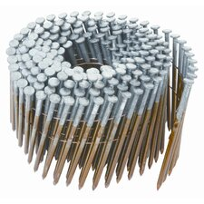 "2.38"" X 0.11"" Round Head Ring Shank Framing Nail 5,000 Count"