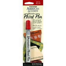 <strong>AmericanAccents</strong> American Accents® Satin Ruby Decorative Paint Pen