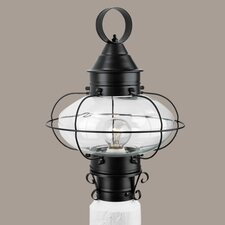 Cottage Onion 1 Light Outdoor Post Lantern