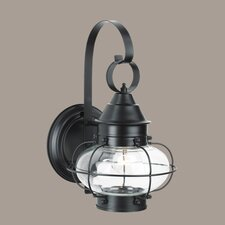 Cottage Onion Small 1 Light Outdoor Wall Lantern