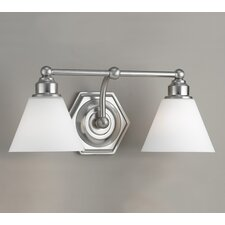 <strong>Norwell Lighting</strong> Jenna 2 Light Bath Vanity Light