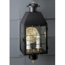 American Heritage 2 Light Outdoor Wall Lantern