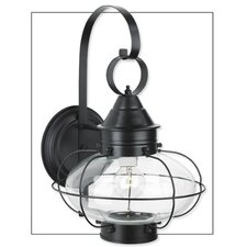 Cottage Onion Medium 1 Light Outdoor Wall Lantern
