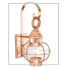 New Vidalia Onion Small 1 Light Outdoor Wall Lantern