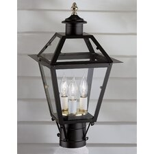 "Lexington 3 Light 9"" Outdoor Post Lantern"