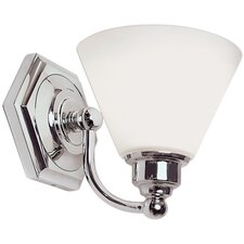 <strong>Norwell Lighting</strong> Jenna 1 Light Wall Sconce