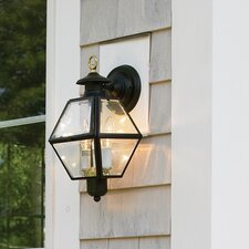 Olde Colony 2 Light Outdoor Wall Lantern