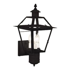 <strong>Norwell Lighting</strong> Lexington 3 Light Outdoor Wall Lantern