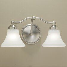 <strong>Norwell Lighting</strong> Soleil 2 Light Bath Vanity Light