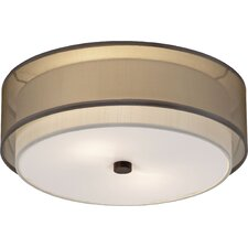 Brella 1 Light Flush Mount