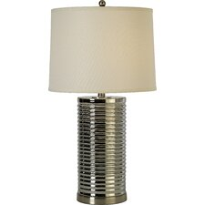 "Arctica 28"" H Table Lamp with Empire Shade"
