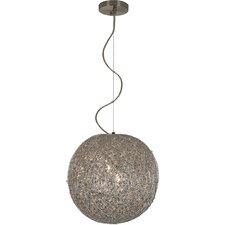 Salon 3 Light Globe Pendant