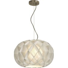 Honeycomb 1 Light Globe Pendant