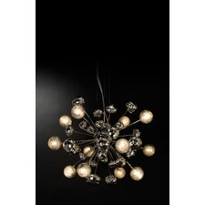 Starburst 12 Light Chandelier