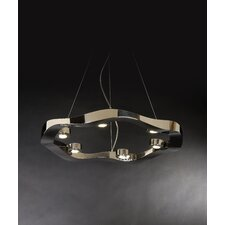 <strong>Trend Lighting Corp.</strong> Halo 6 Light Medium Pendant