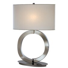 """Infinity 26.5"""" H Table Lamp with Rectangle Shade"""