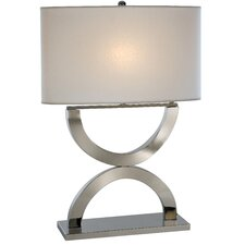 "Echo 28"" H Table Lamp with Rectangle Shade"