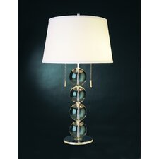 "Quattro 29.5"" H Table Lamp with Empire Shade"