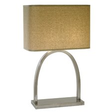 "Dusk 26.5"" H Table Lamp with Rectangle Shade"