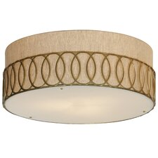 Bangle Large Flush Mount