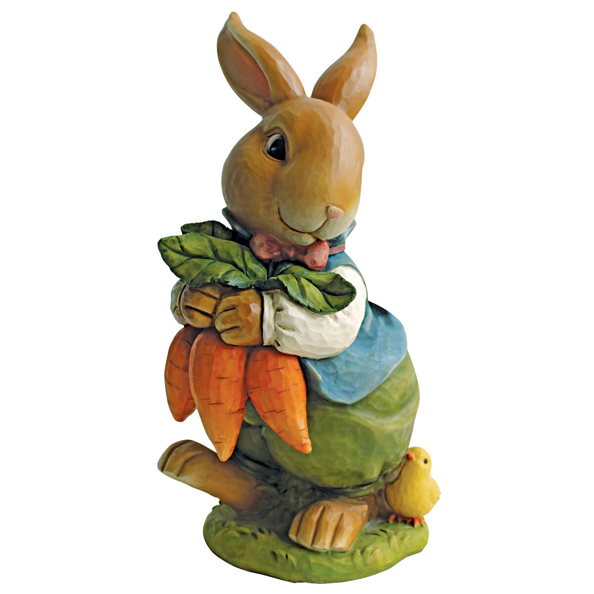 Design Toscano Bunny Hop Lane Father Rabbit Statue