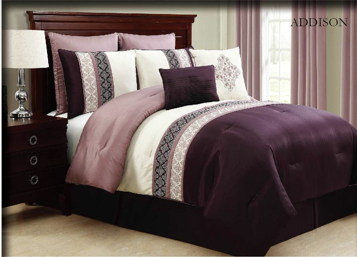 Victoria Classics Addison 8 Piece Queen Comforter Set
