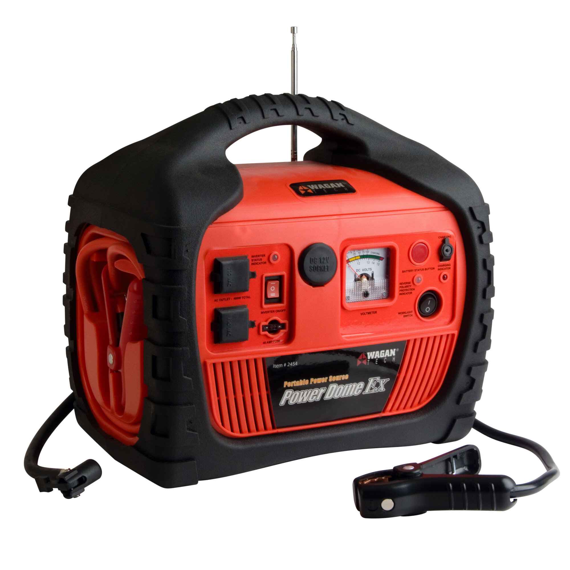 Small Electric Generator : Compact generator electric small portable red outlet
