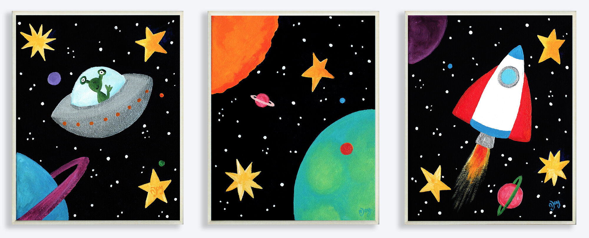 Space Themed Bedding