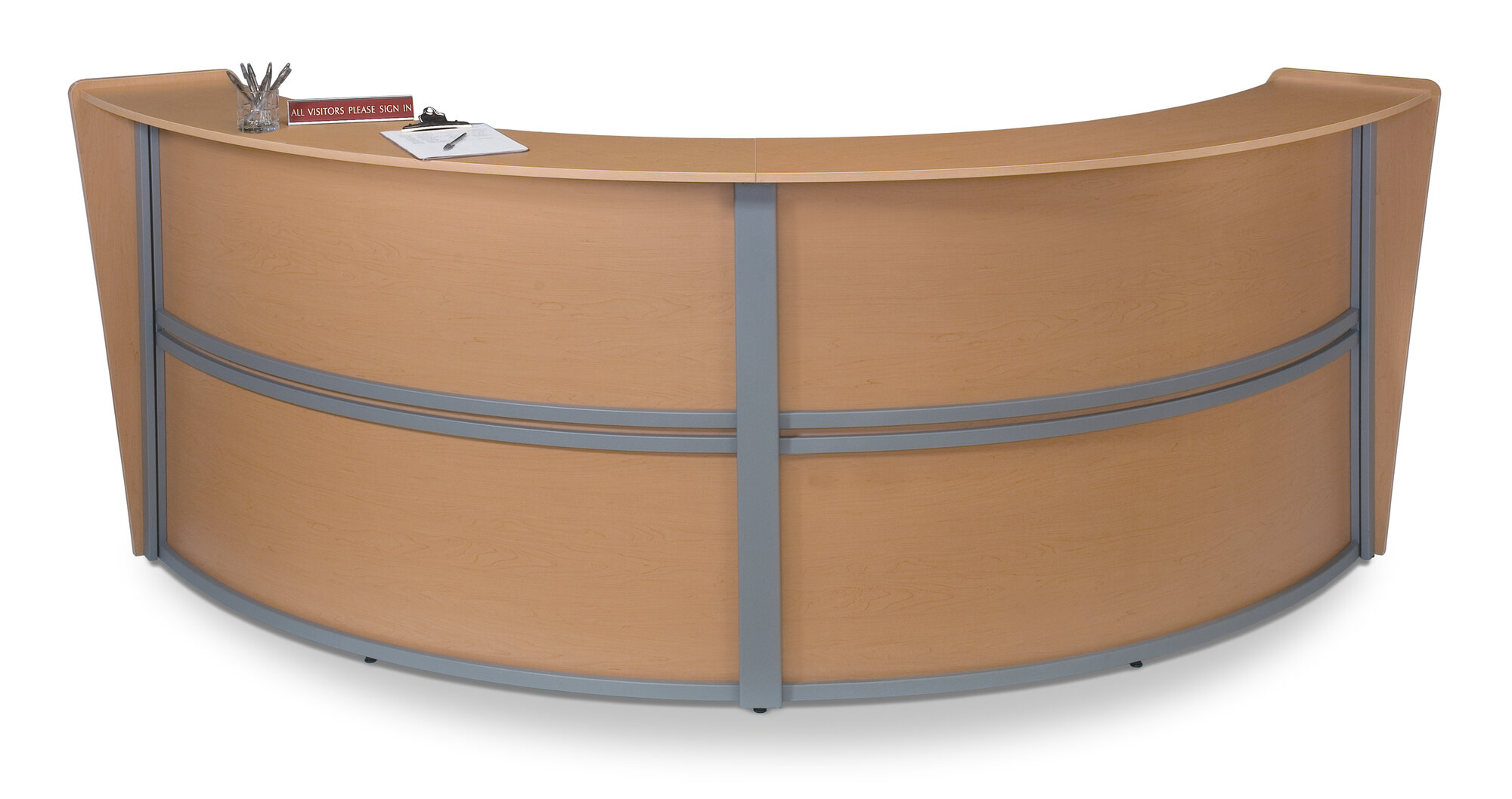 Curved reception Desk OFM