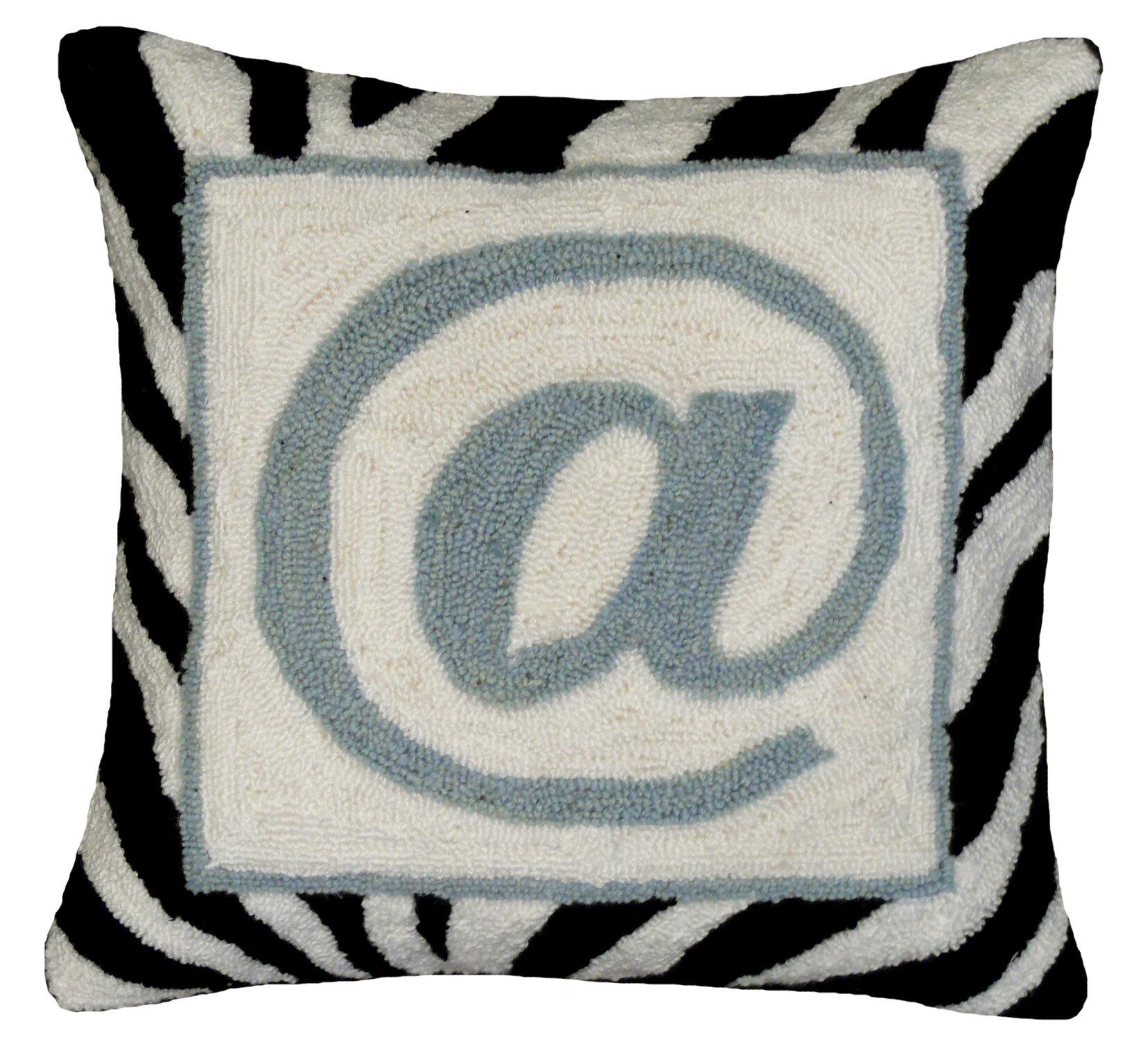 @ Sign 100% Wool Hook Pillow