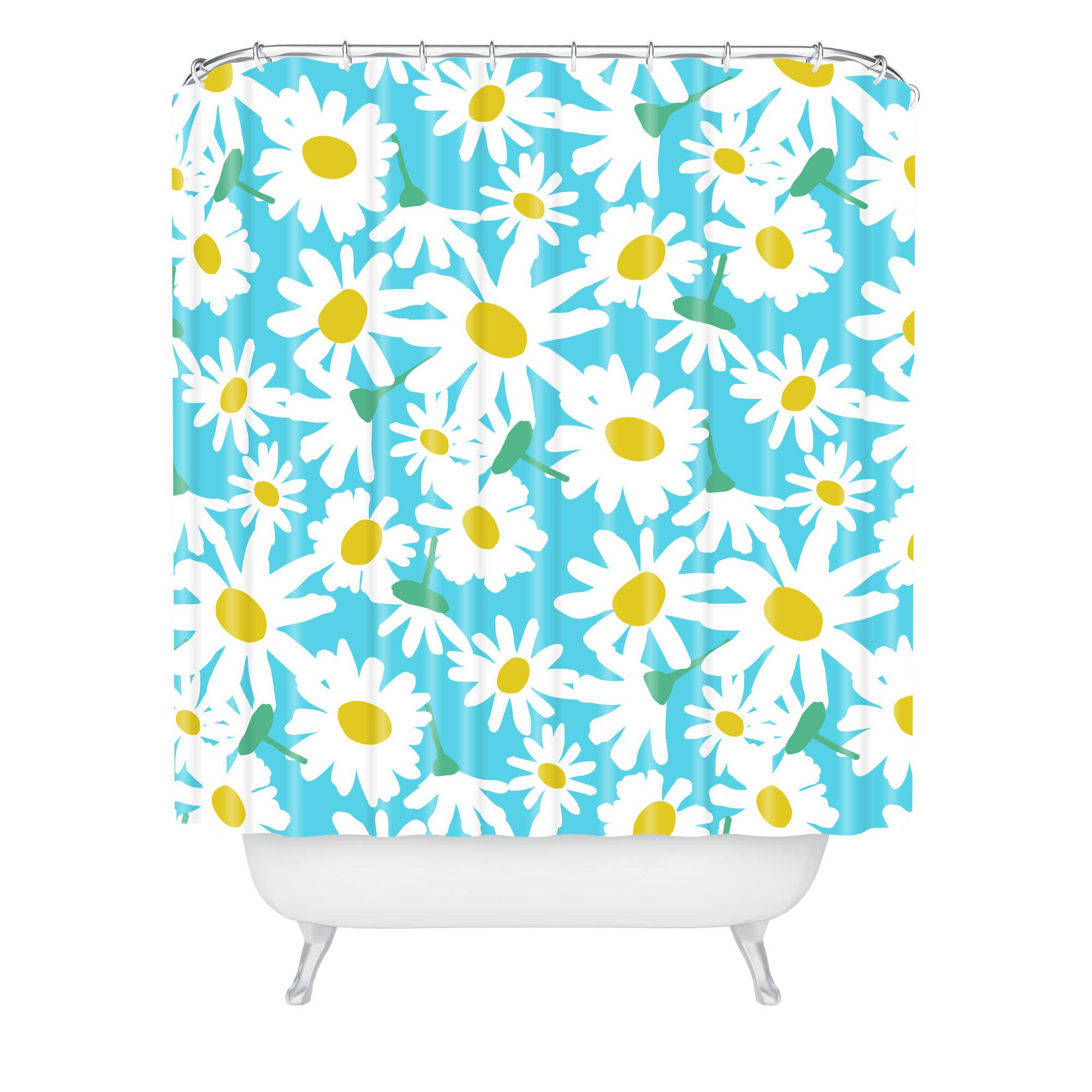 ... Designs Zoe Wodarz Daisy Do Right Shower Curtain