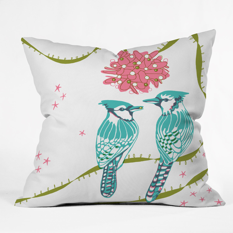 Throw Pillows Bird Design : Bird Decor WebNuggetz.com