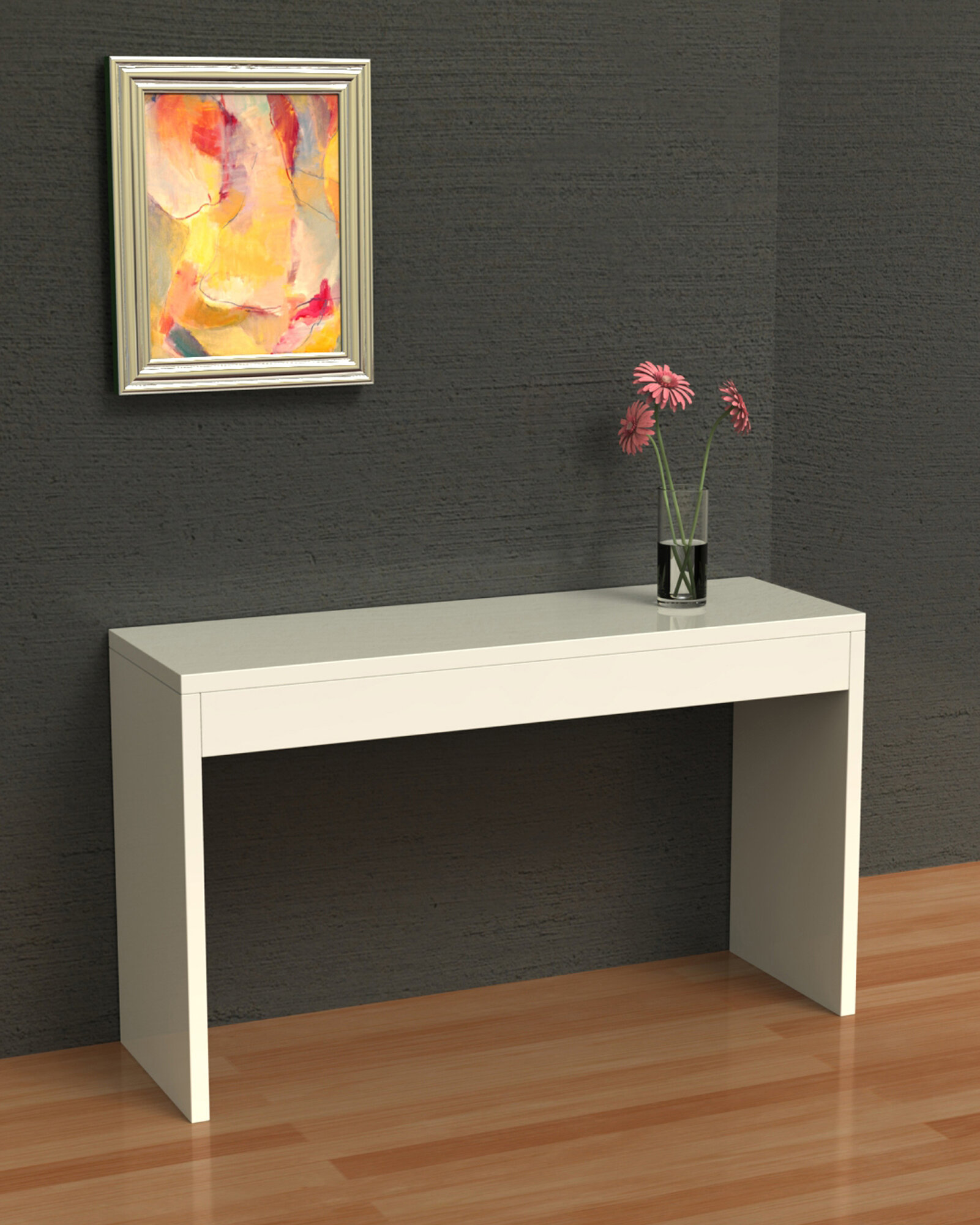 Foyer Console Bench : Modern foyer table console sofa hall entry stand server