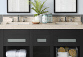 Neutral Bathroom Vanity