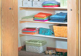 DIY Closet Shelves (Sponsored)