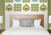5 Ideas for Decorating Over the Bed