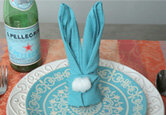 How to Make a Napkin Bunny