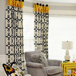 decorate with drapes