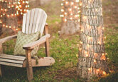 Decorating a Backyard Wedding on a Budget