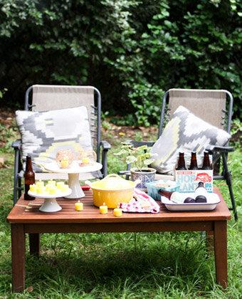 summer memory camping