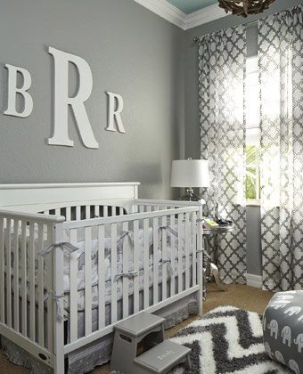 Designing a Baby's Room in Neutral Colors